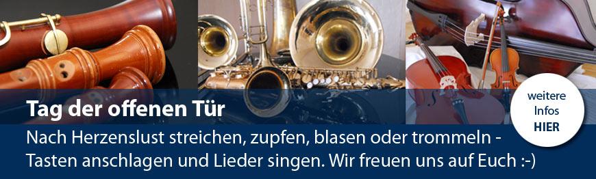 Tag der offenen Tür Musikschule FFO