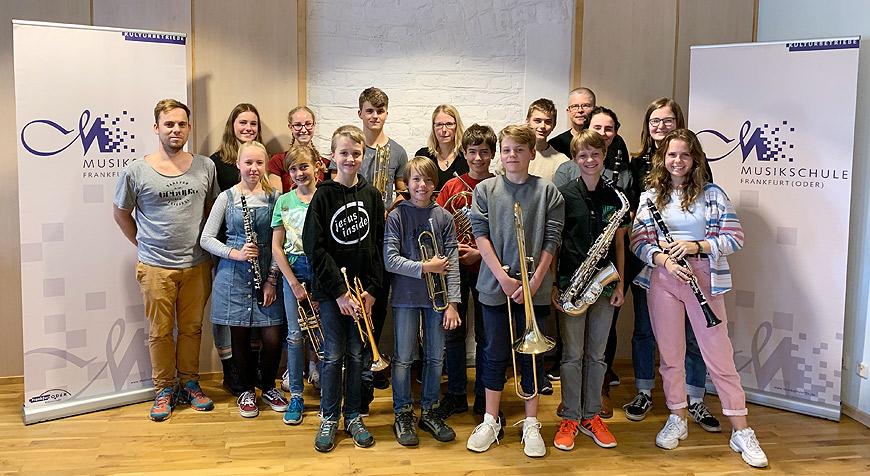 Jugendblasorchester der Musikschule Frankfurt(Oder)