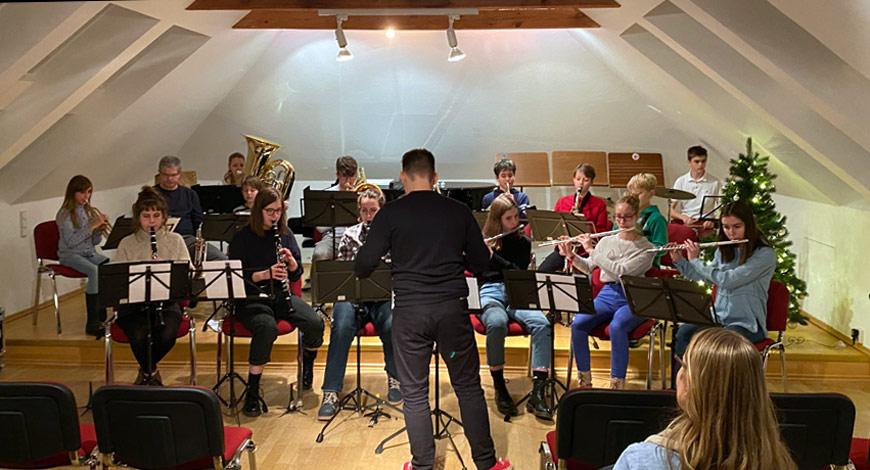 Musikschulkonzert im Dezember 2019