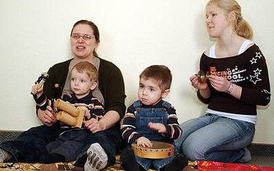 Musizieren mit den Eltern